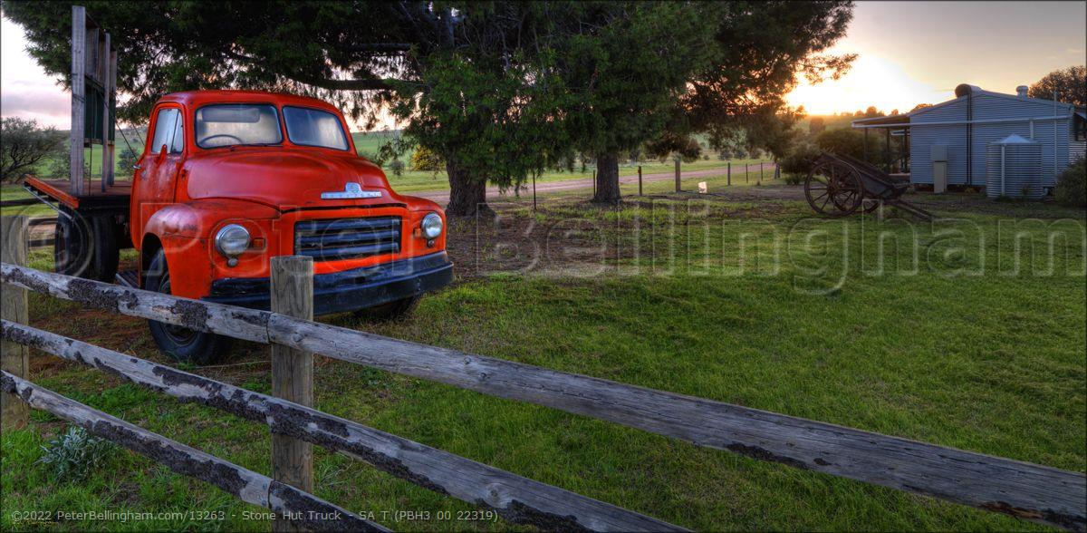 Peter Bellingham Photography Stone Hut Truck - SA T (PBH3 00 22319)