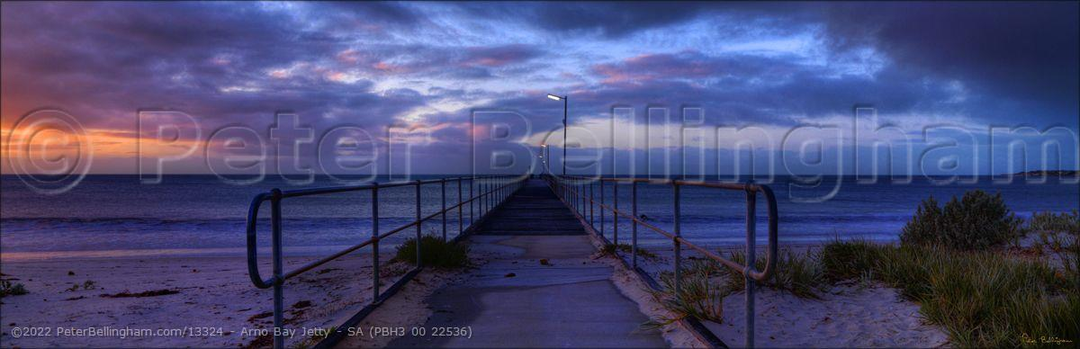 Peter Bellingham Photography Arno Bay Jetty - SA (PBH3 00 22536)