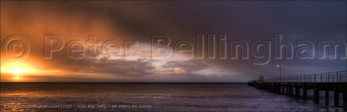 Peter Bellingham Photography Arno Bay Jetty - SA (PBH3 00 22548)