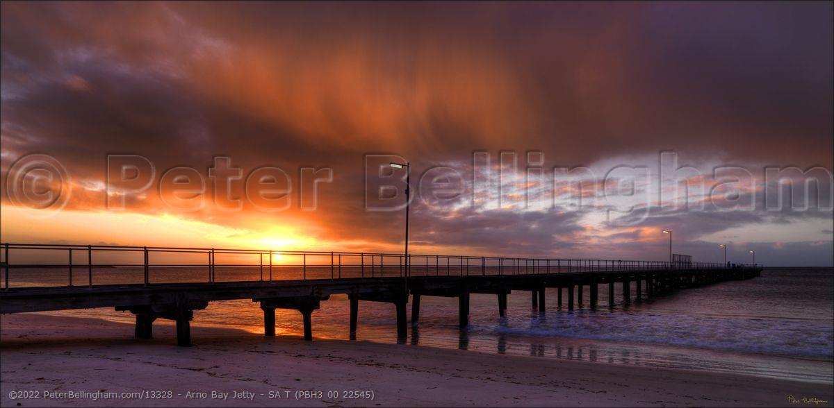Peter Bellingham Photography Arno Bay Jetty - SA T (PBH3 00 22545)