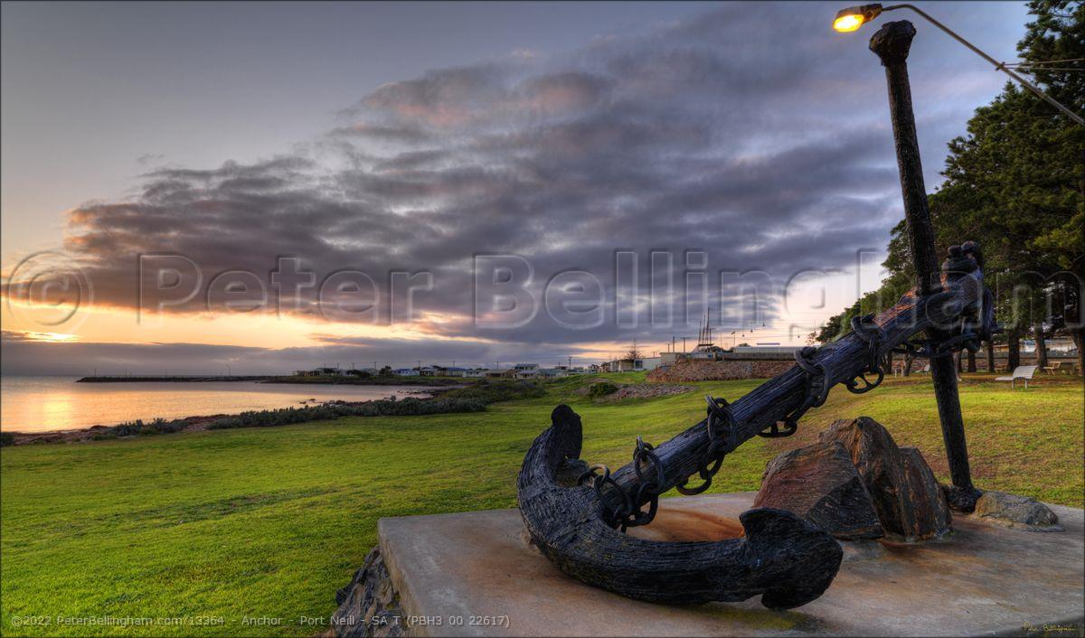Peter Bellingham Photography Anchor - Port Neill - SA T (PBH3 00 22617)