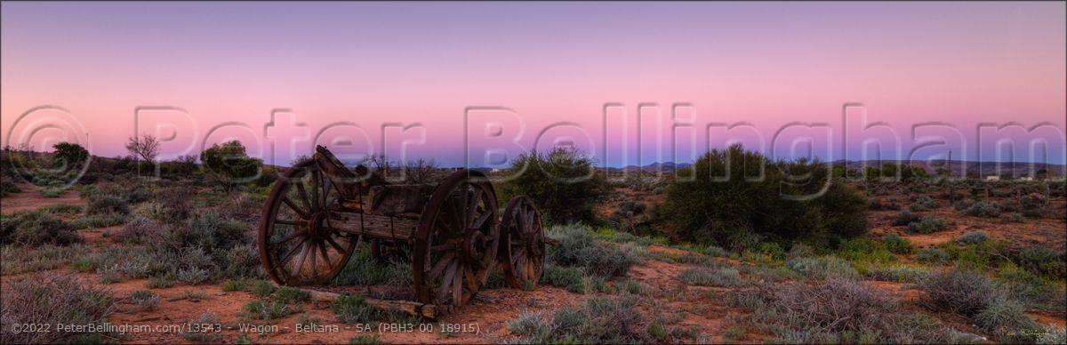 Peter Bellingham Photography Wagon - Beltana - SA (PBH3 00 18915)