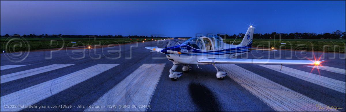 Peter Bellingham Photography Jill's Tecnam - NSW (PBH3 00 23444)
