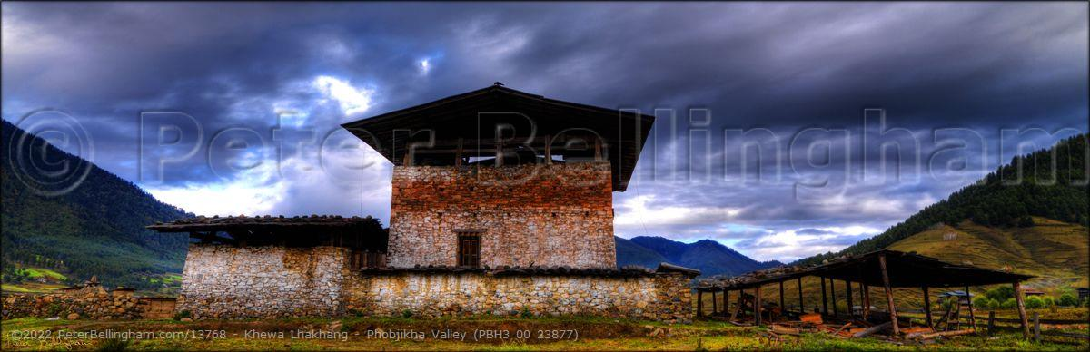 Peter Bellingham Photography Khewa Lhakhang - Phobjikha Valley (PBH3 00 23877)