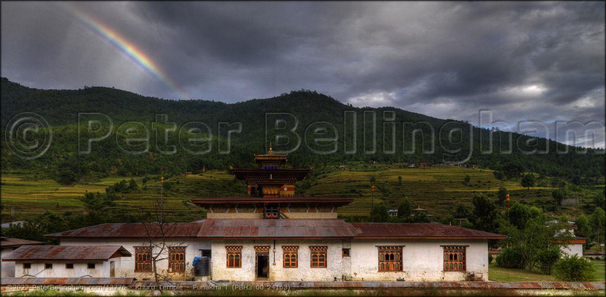 Peter Bellingham Photography Khuru Temple - Punakha T (PBH3 00 24163)