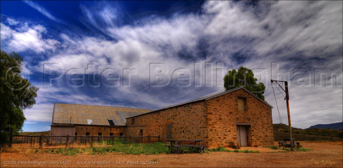 Peter Bellingham Photography Arkaba Woolshed - SA T (PBH3 0025254)