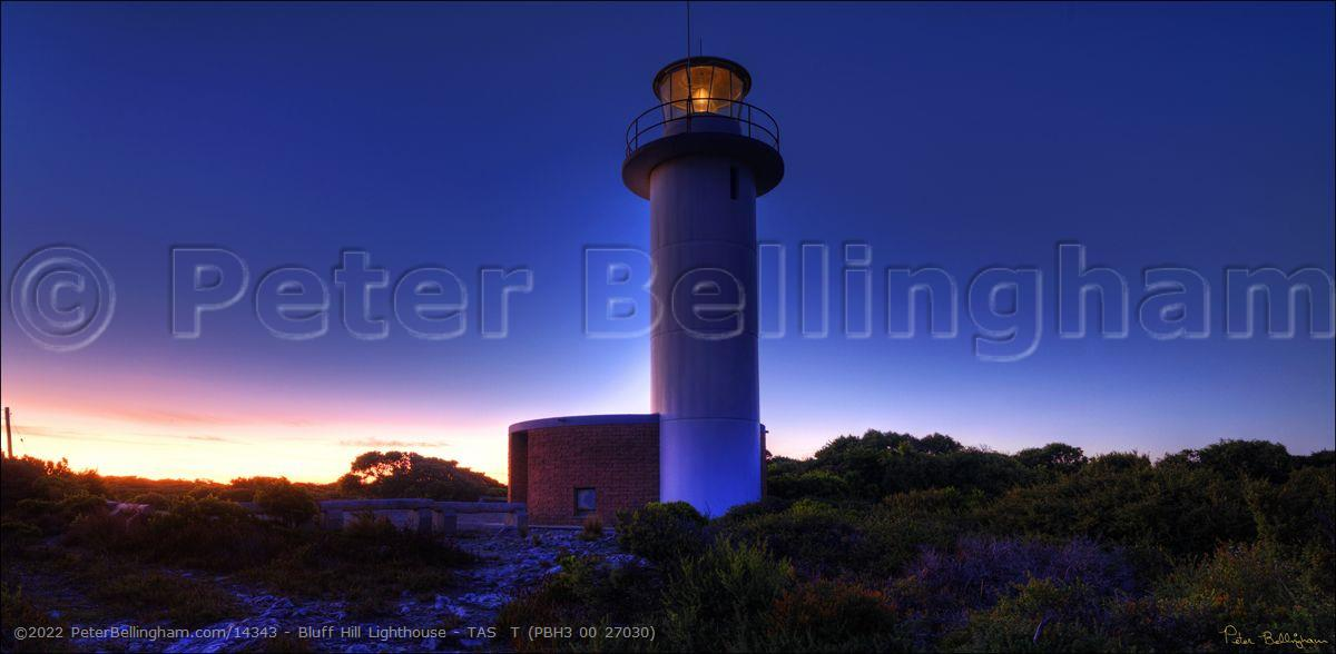 Peter Bellingham Photography Bluff Hill Lighthouse - TAS  T (PBH3 00 27030)