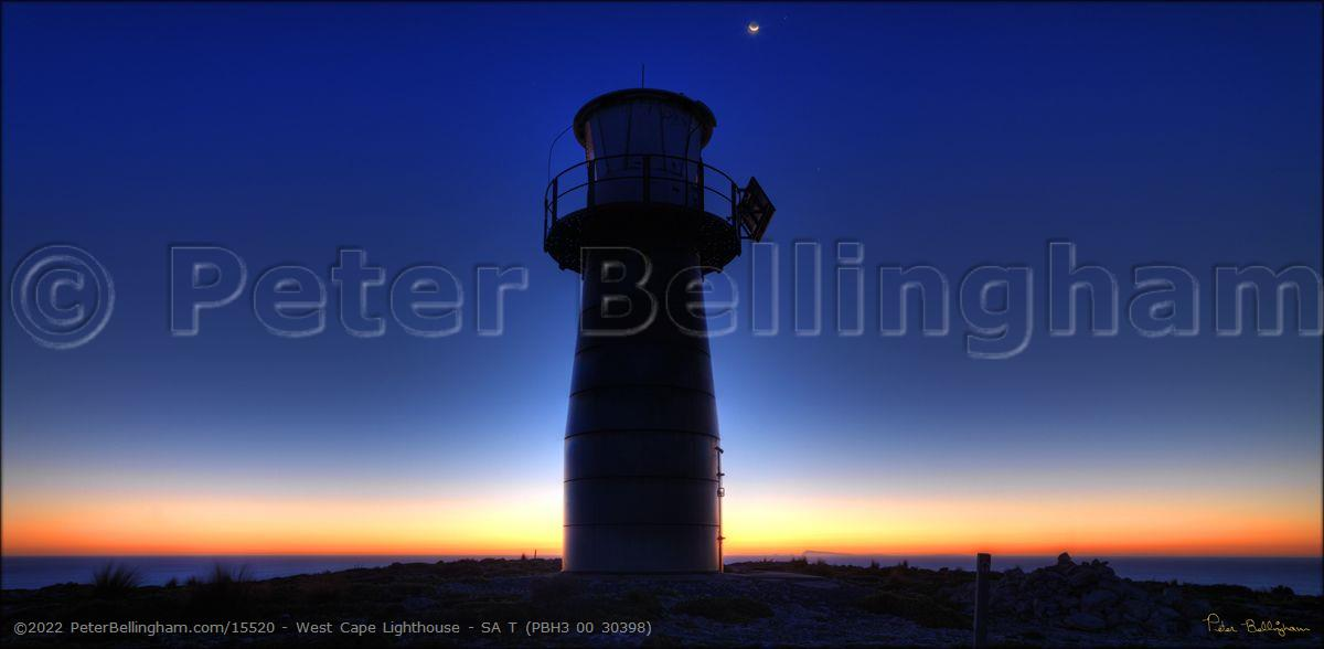 Peter Bellingham Photography West Cape Lighthouse - SA T (PBH3 00 30398)