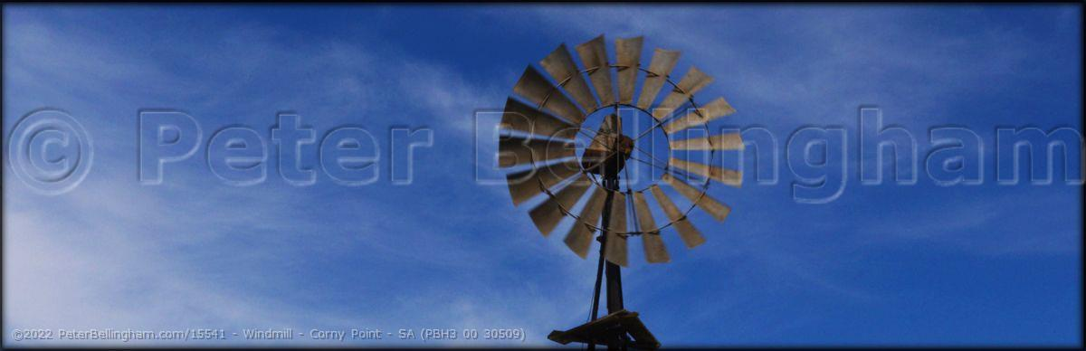 Peter Bellingham Photography Windmill - Corny Point - SA (PBH3 00 30509)