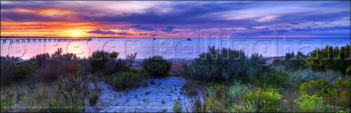 Peter Bellingham Photography Sunrise - Marion Bay - SA (PBH3 00 30213)
