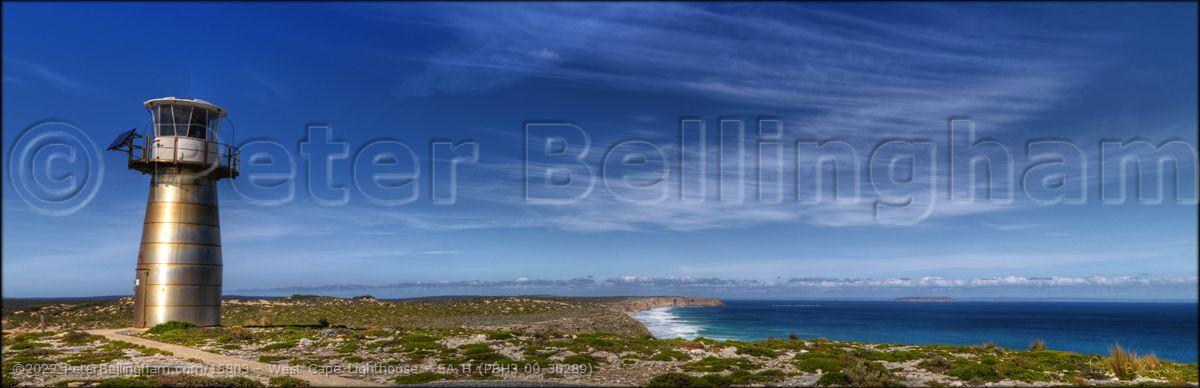 Peter Bellingham Photography West Cape Lighthouse - SA H (PBH3 00 30289)