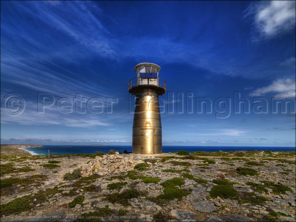 Peter Bellingham Photography West Cape Lighthouse - SA SQ (PBH3 00 30295)