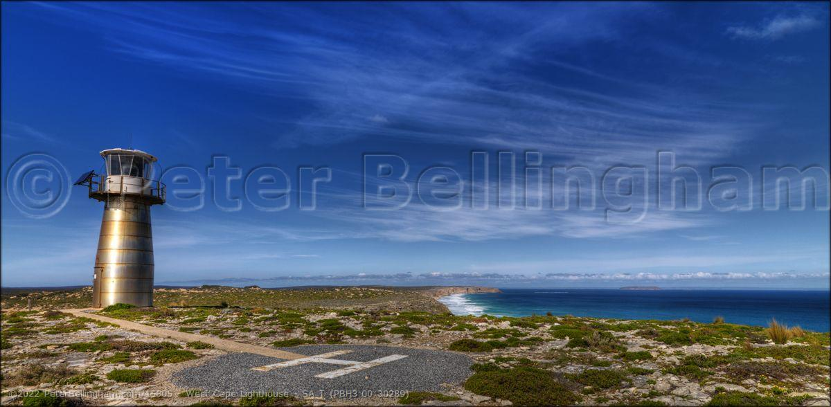 Peter Bellingham Photography West Cape Lighthouse - SA T (PBH3 00 30289)