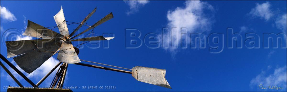 Peter Bellingham Photography Windmill - SA (PBH3 00 32132)