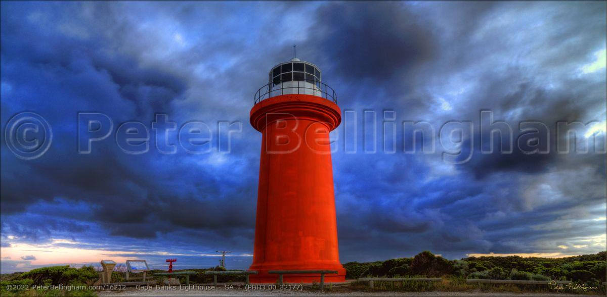 Peter Bellingham Photography Cape Banks Lighthouse - SA T (PBH3 00 32177)