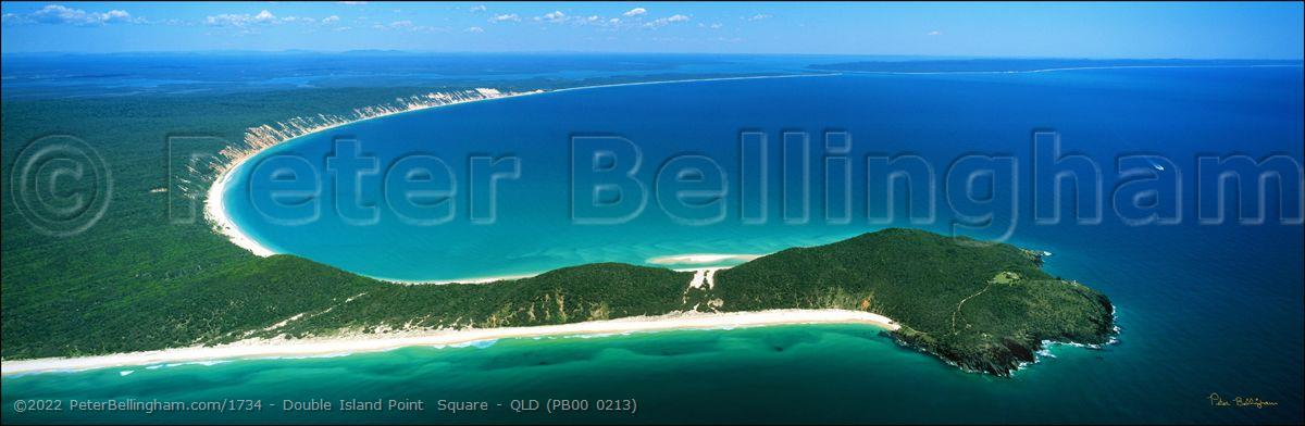 Peter Bellingham Photography Double Island Point  Square - QLD (PB00 0213)