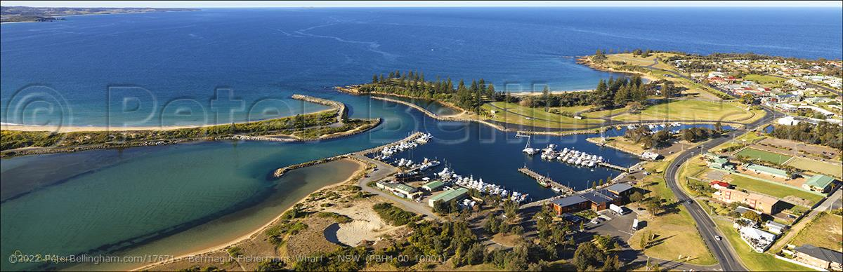 Peter Bellingham Photography Bermagui Fishermans Wharf - NSW (PBH4 00 10001)