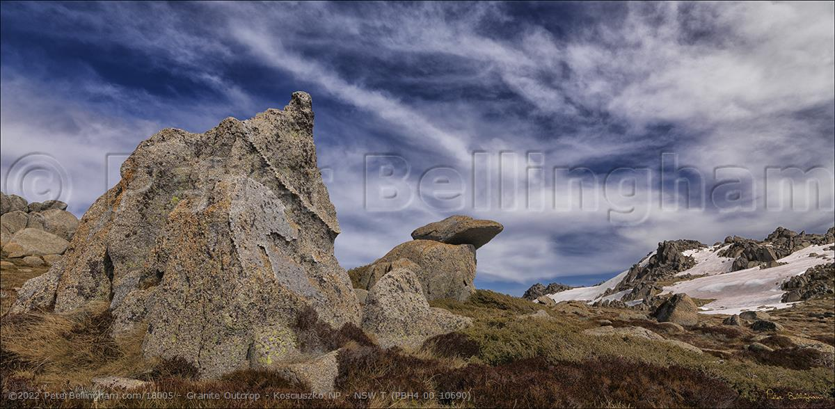 Peter Bellingham Photography Granite Outcrop - Kosciuszko NP - NSW T (PBH4 00 10690)