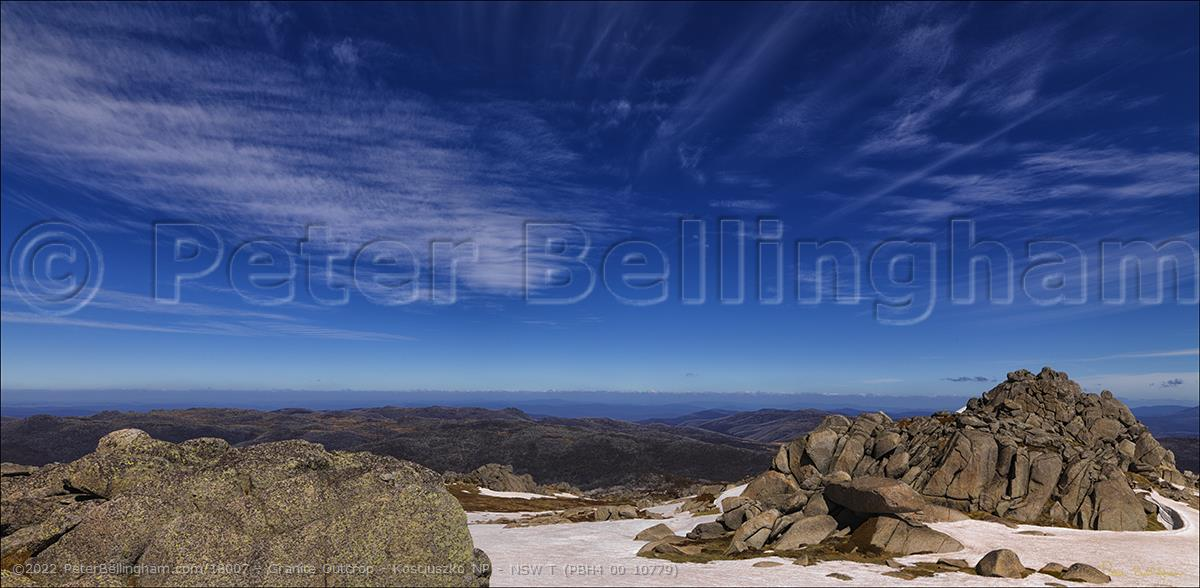 Peter Bellingham Photography Granite Outcrop - Kosciuszko NP - NSW T (PBH4 00 10779)