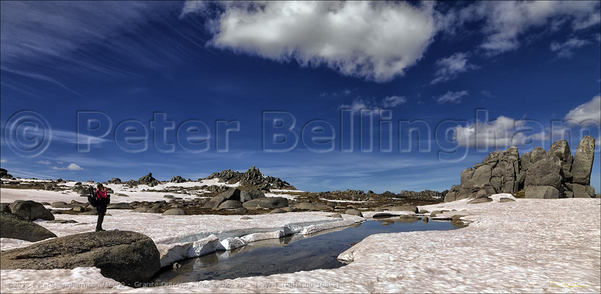 Peter Bellingham Photography Granite Outcrop - Kosciuszko NP - NSW T (PBH4 00 10852)