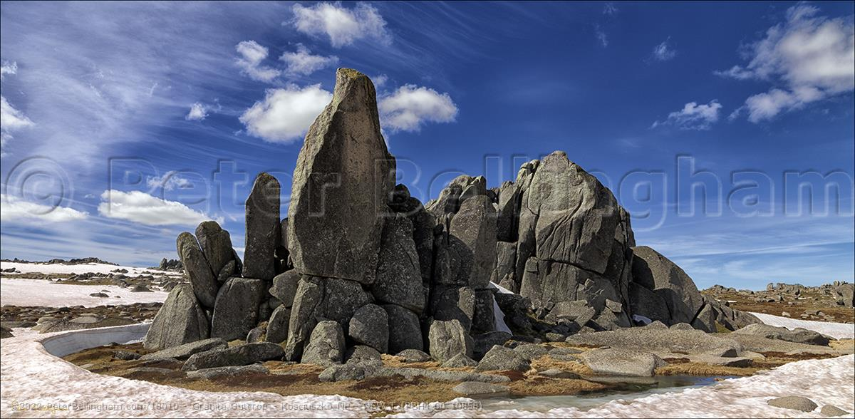 Peter Bellingham Photography Granite Outcrop - Kosciuszko NP - NSW T (PBH4 00 10858)