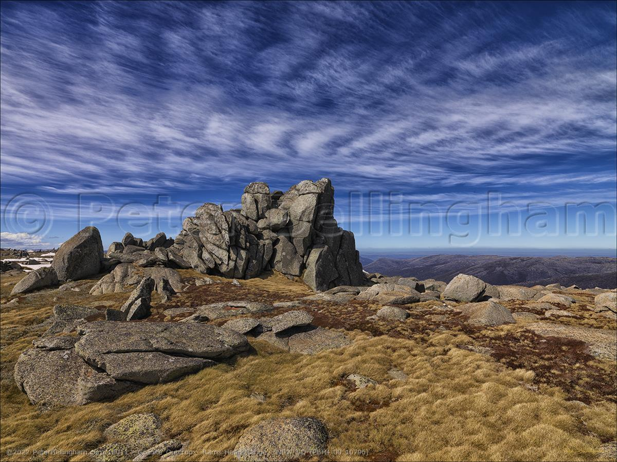 Peter Bellingham Photography Granite Outcrop - Rams Head Range - NSW SQ (PBH4 00 10796)