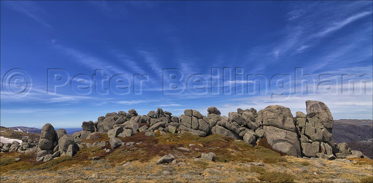 Peter Bellingham Photography Granite Outcrop - Rams Head Range - NSW T (PBH4 00 10650)