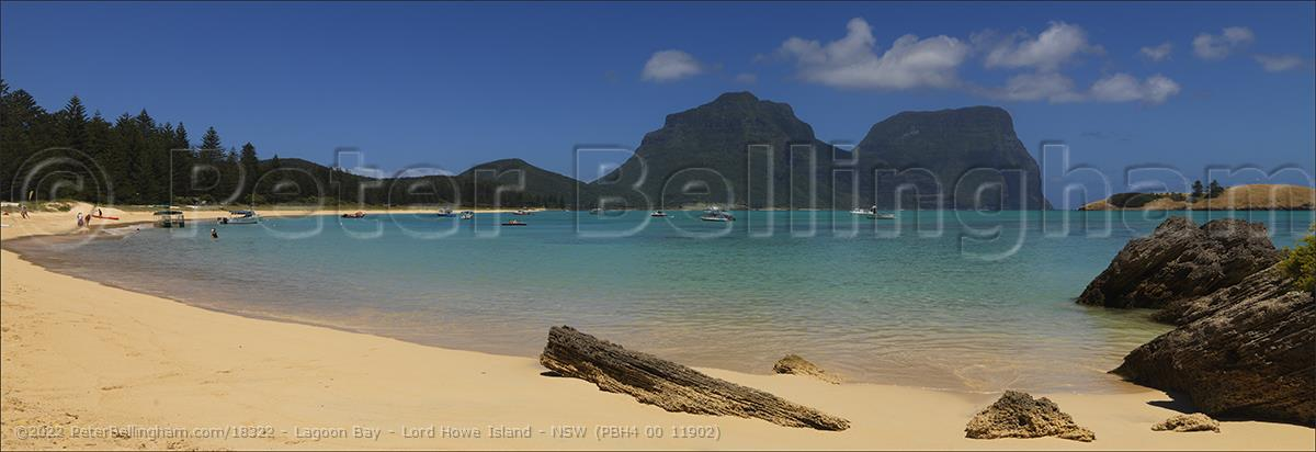 Peter Bellingham Photography Lagoon Bay - Lord Howe Island - NSW (PBH4 00 11902)