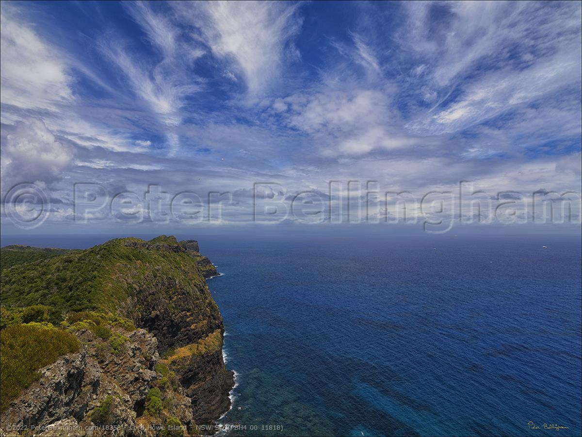 Peter Bellingham Photography Lord Howe Island - NSW SQ (PBH4 00 11818)