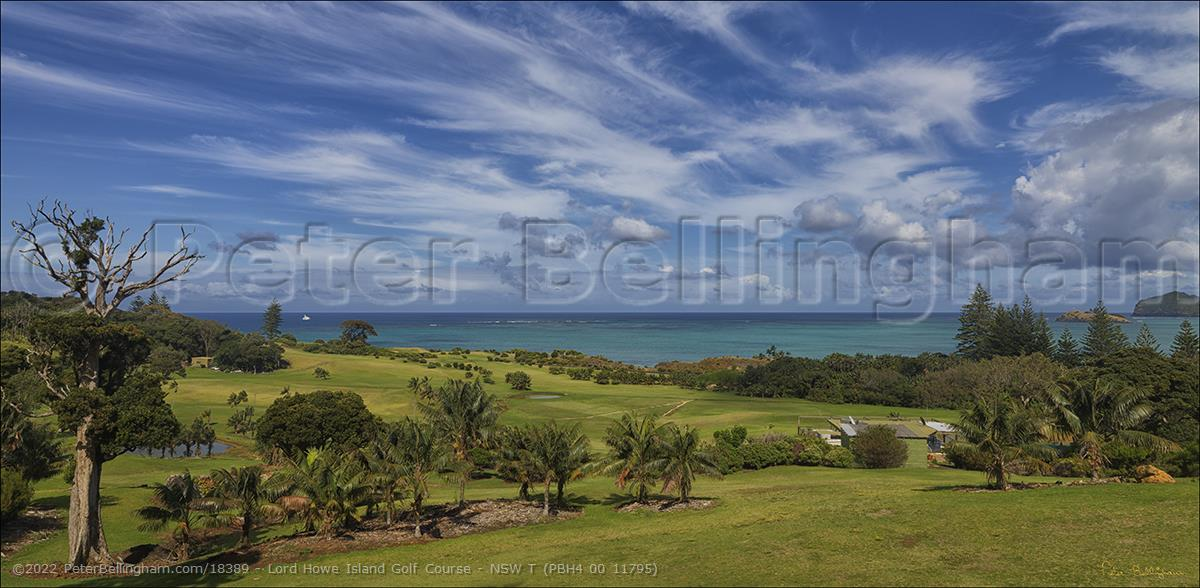 Peter Bellingham Photography Lord Howe Island Golf Course - NSW T (PBH4 00 11795)
