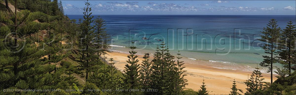 Peter Bellingham Photography Anson Bay - Norfolk Island - NSW H (PBH4 00 12131)