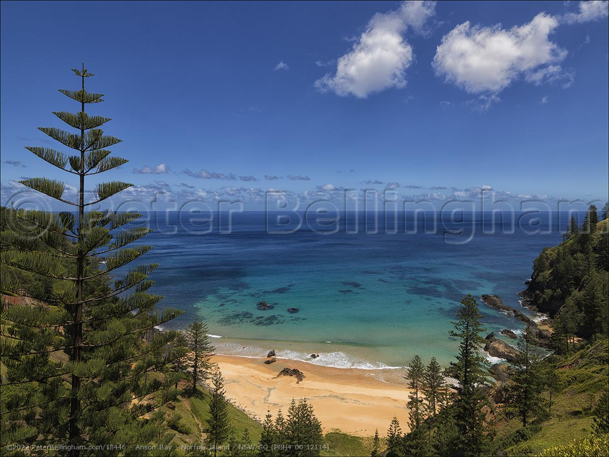 Peter Bellingham Photography Anson Bay - Norfolk Island - NSW SQ (PBH4 00 12114)
