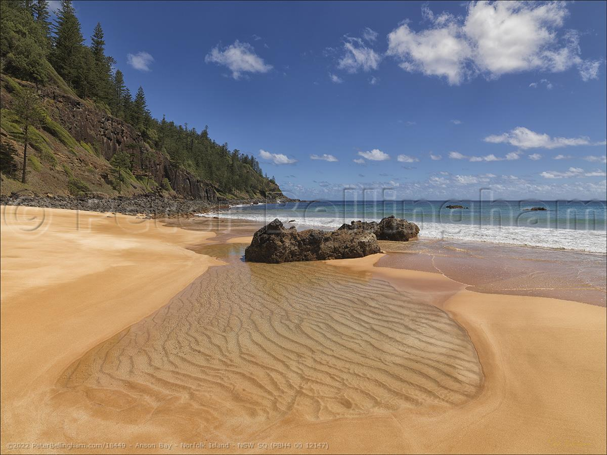 Peter Bellingham Photography Anson Bay - Norfolk Island - NSW SQ (PBH4 00 12147)