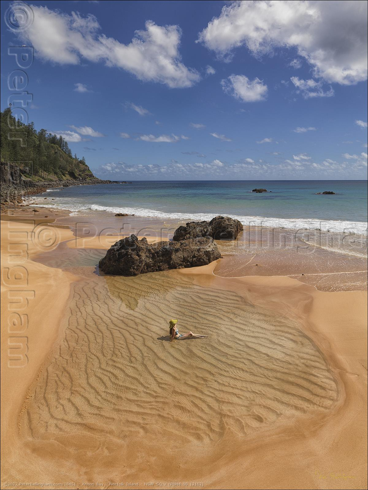 Peter Bellingham Photography Anson Bay - Norfolk Island - NSW SQ V (PBH4 00 12152)