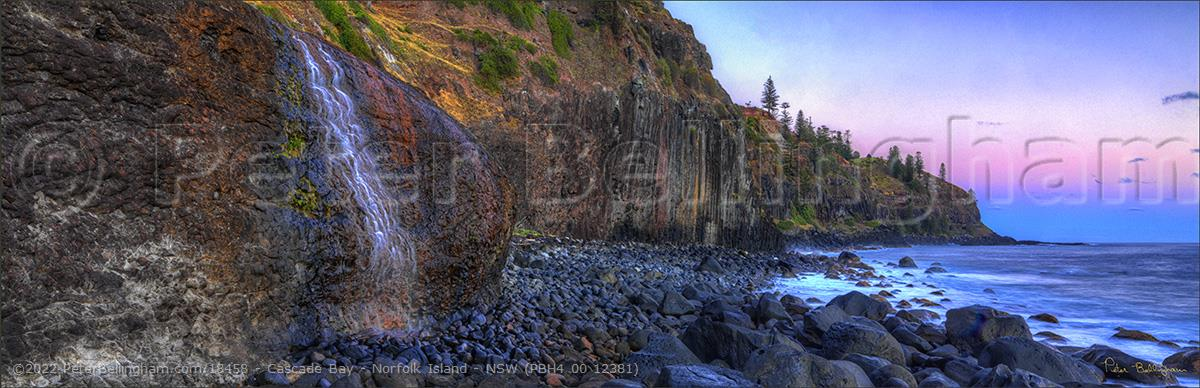 Peter Bellingham Photography Cascade Bay - Norfolk Island - NSW (PBH4 00 12381)