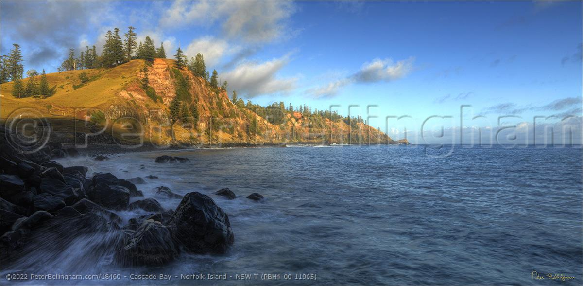 Peter Bellingham Photography Cascade Bay - Norfolk Island - NSW T (PBH4 00 11965)