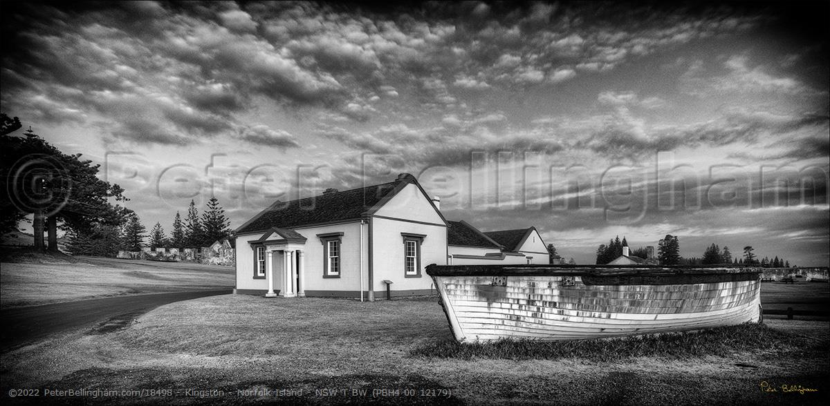Peter Bellingham Photography Kingston - Norfolk Island - NSW T BW (PBH4 00 12179)