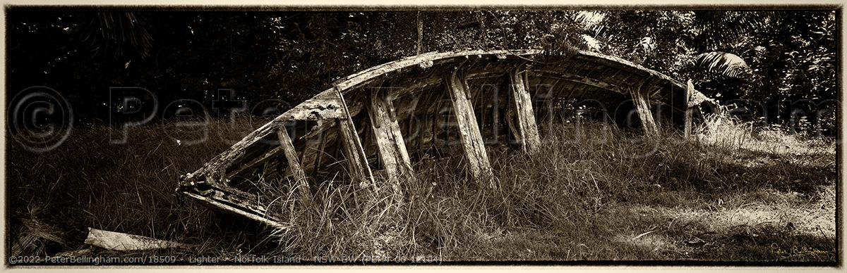 Peter Bellingham Photography Lighter - Norfolk Island - NSW BW (PBH4 00 12104)