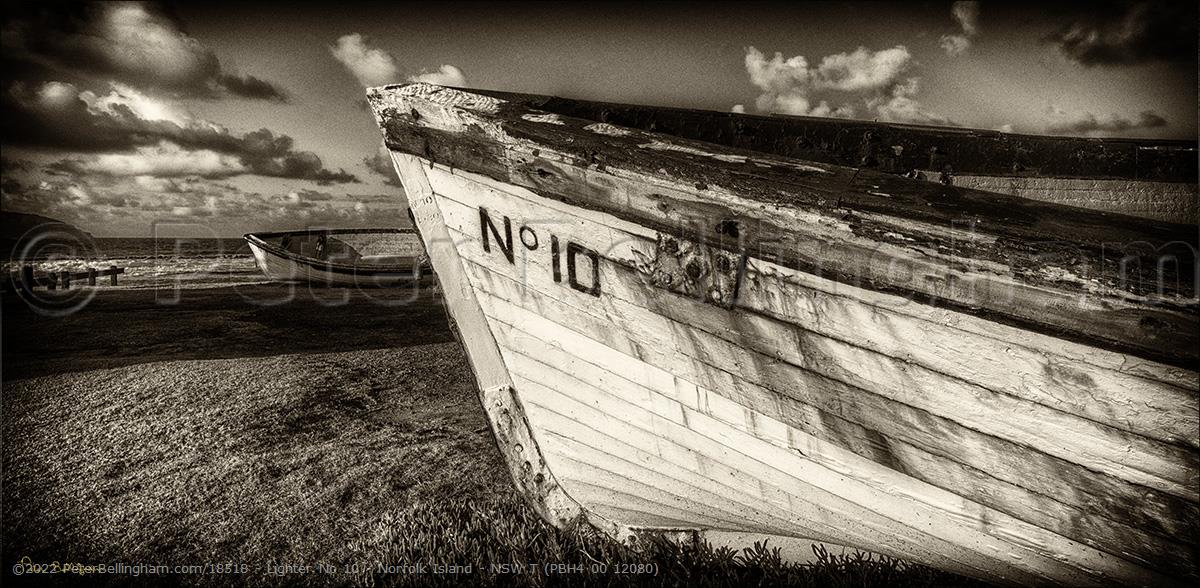Peter Bellingham Photography Lighter No 10 - Norfolk Island - NSW T (PBH4 00 12080)