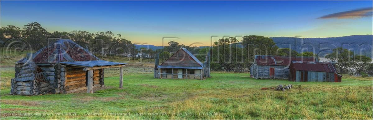 Peter Bellingham Photography Coolamine Homestead - Kosciuszko NP - NSW (PBH4 00 12536)