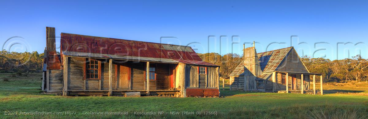 Peter Bellingham Photography Coolamine Homestead - Kosciuszko NP - NSW (PBH4 00 12566)