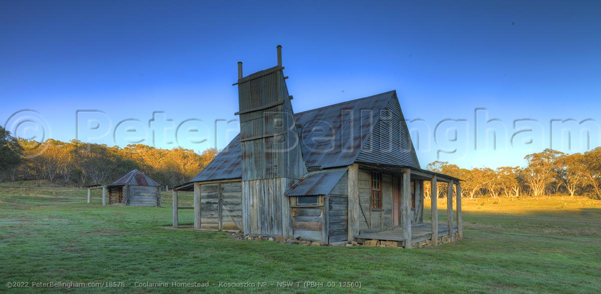 Peter Bellingham Photography Coolamine Homestead - Kosciuszko NP - NSW T (PBH4 00 12560)