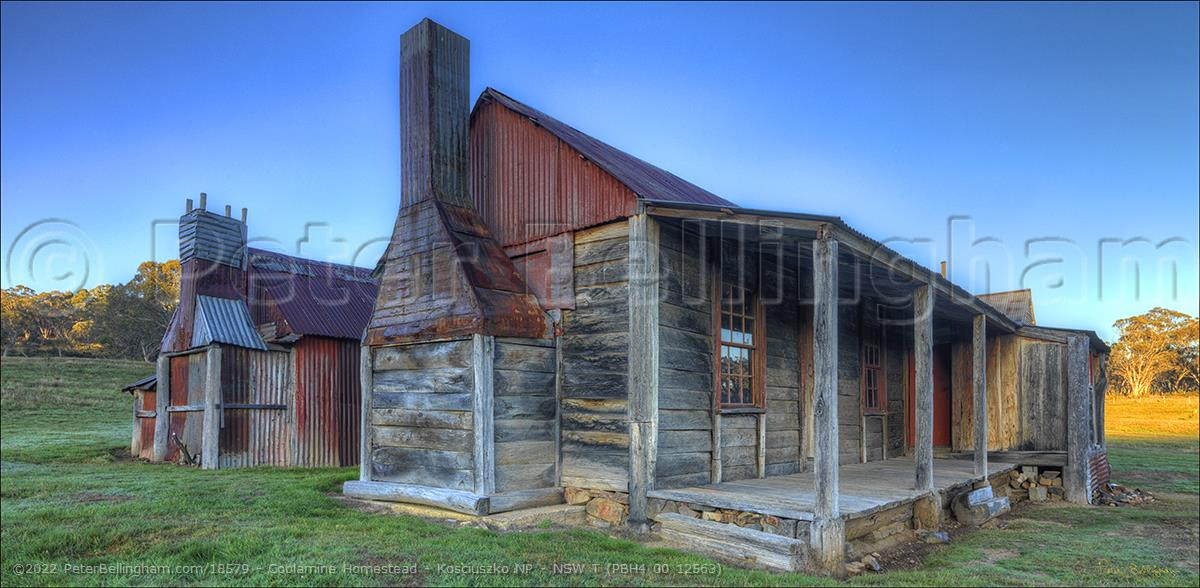 Peter Bellingham Photography Coolamine Homestead - Kosciuszko NP - NSW T (PBH4 00 12563)