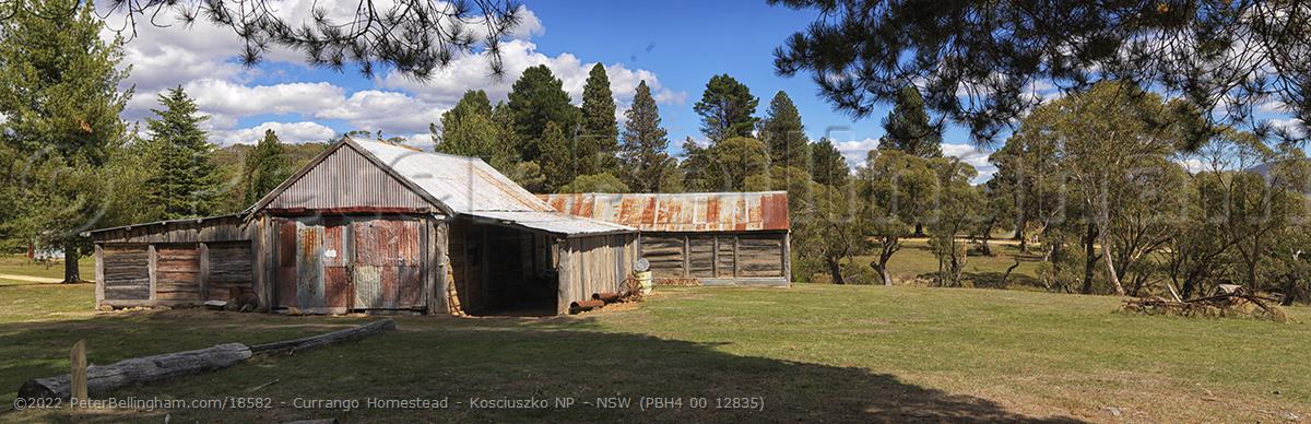 Peter Bellingham Photography Currango Homestead - Kosciuszko NP - NSW (PBH4 00 12835)