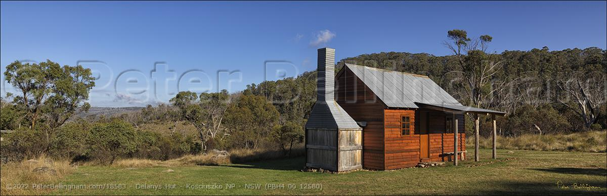 Peter Bellingham Photography Delanys Hut - Kosciuszko NP - NSW (PBH4 00 12580)