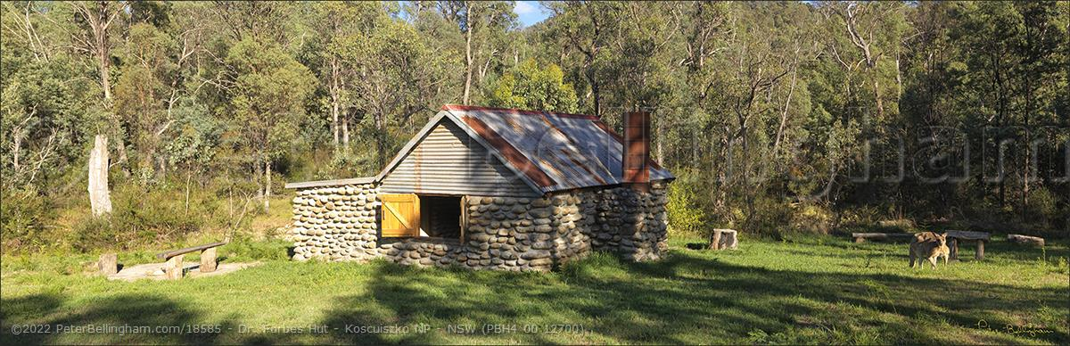 Peter Bellingham Photography Dr. Forbes Hut - Koscuiszko NP - NSW (PBH4 00 12700)