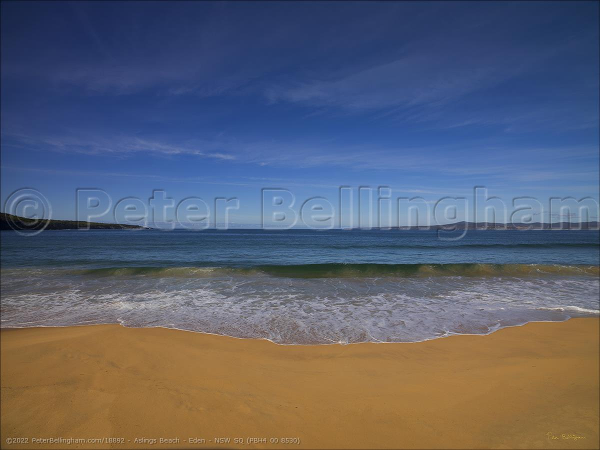 Peter Bellingham Photography Aslings Beach - Eden - NSW SQ (PBH4 00 8530)