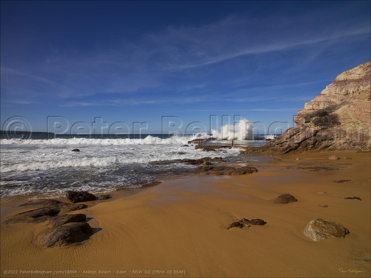 Peter Bellingham Photography Aslings Beach - Eden - NSW SQ (PBH4 00 8548)