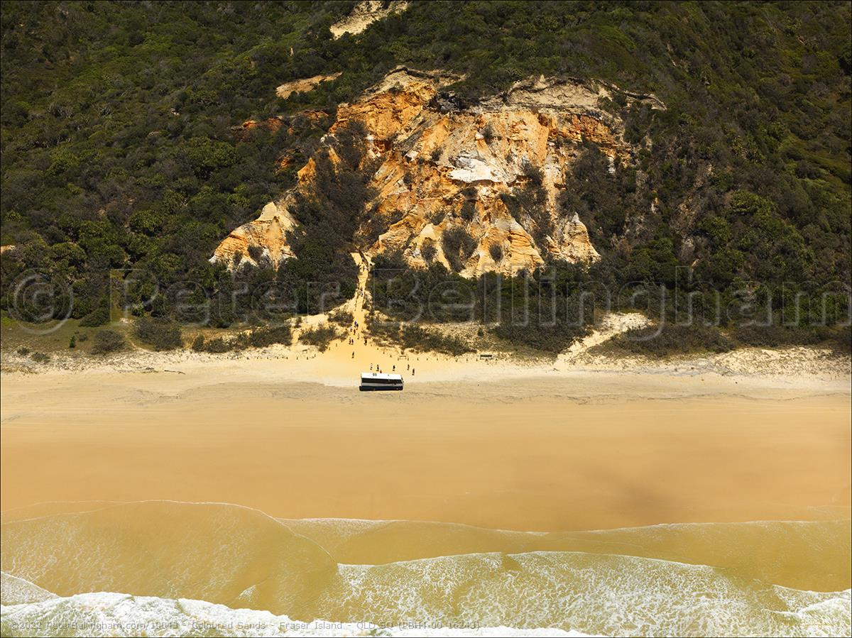 Peter Bellingham Photography Coloured Sands - Fraser Island - QLD SQ (PBH4 00 16243)