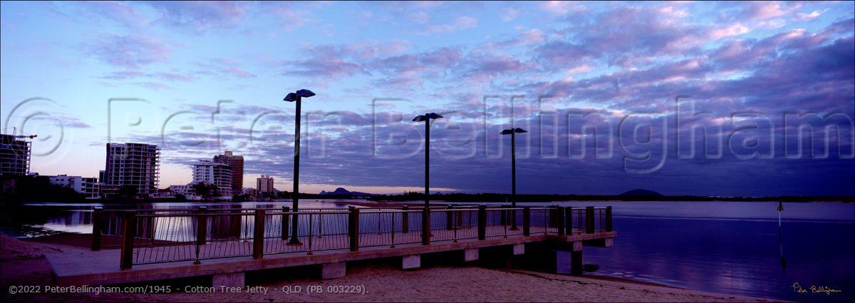 Peter Bellingham Photography Cotton Tree Jetty - QLD (PB 003229).